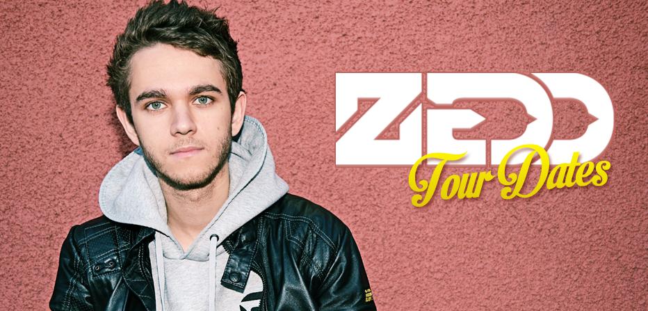 Zedd Tour Dates